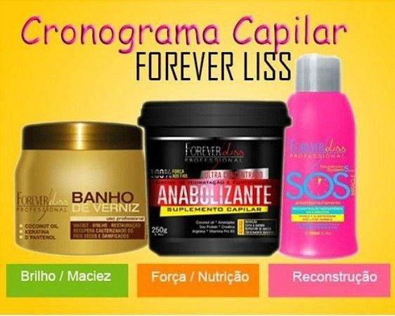Forever Liss - Cronograma Capilar Mulher Maravilha