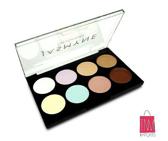 Jasmyne - Paleta de Corretivos 8 cores (V695)