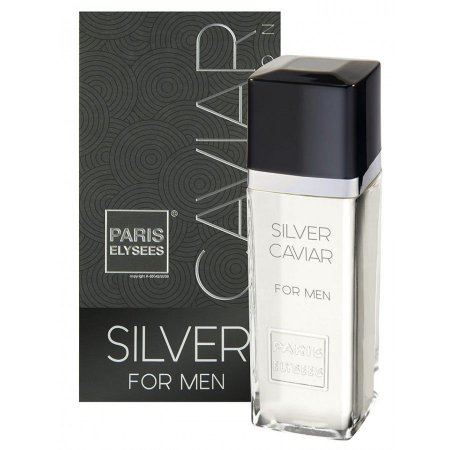 Silver Caviar For Men Eau de Toilette Paris Elysees