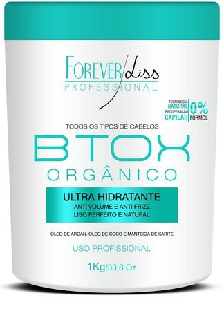 Btox Orgânico Forever Liss