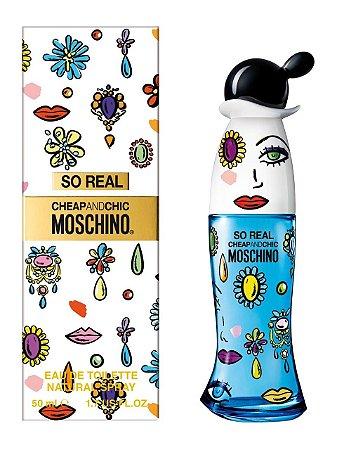 So Real Cheap & Chic Eau de Toilette Feminino - Moschino