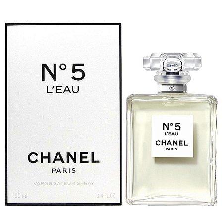 1fe2fe0b6bcb2 Chanel Nº5 L Eau Eau De Toilette Feminino - Tô na Moda Imports