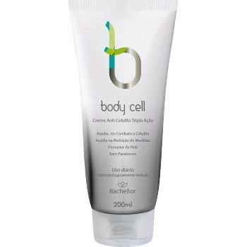Creme Anti Celulite Tripla Ação  Body Cell Bachellor 200ml