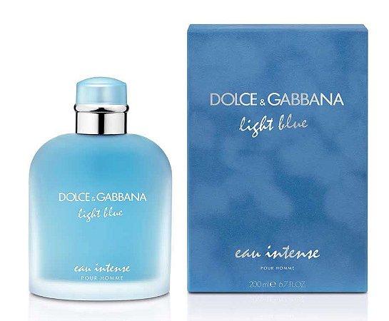 Light Blue Pour Homme Eau Intense Masculino Eau de Parfum Dolce Gabbana