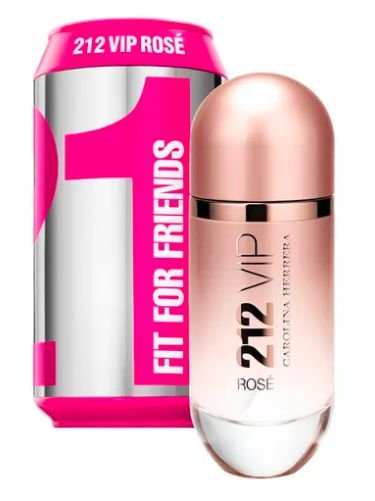 212 VIP Rosé Collector Edition Fit For Friends Carolina Herrera EAU de Parfum