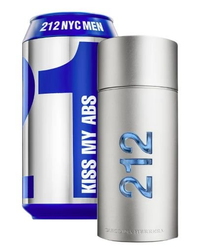 212 NYC Men Sports Collector Edition Kiss My ABS Carolina Hererra Eau de Toilette