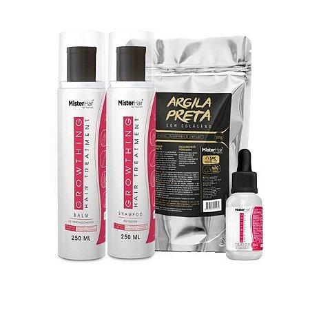 Kit Growthing Hair Treatment Detox - Mister Hair