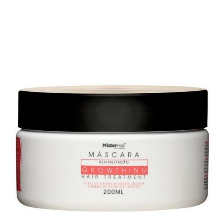 Máscara Growthing Hair Treatment - Mister Hair - 200ml