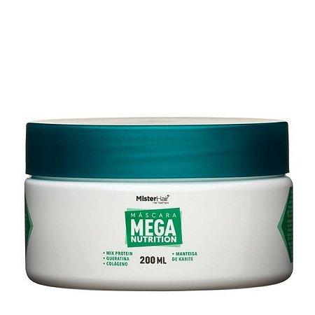 Máscara Mega Nutrition - Mister Hair - 200ml