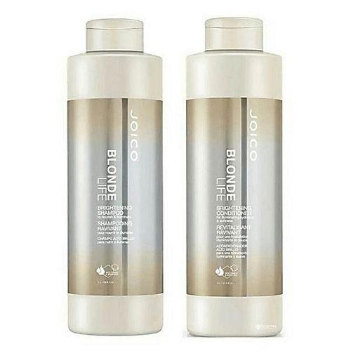 Joico Blonde Life Shampoo e Condicionador Brightening 2x1litro