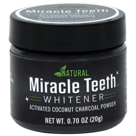 Clareador Dental Natural Miracle Teeth Whitener 20g