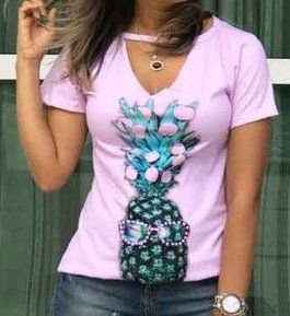 T-Shirt - Regatão - Gola V - Vestido, Adulto ou Infantil - Tal Mãe Tal Filha Cód.5945