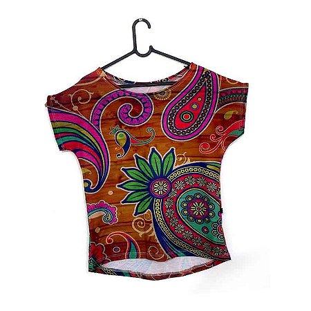 T-Shirt - Regatão - Vestido, Adulto ou Infantil - Tal Mãe Tal Filha Cód.5188