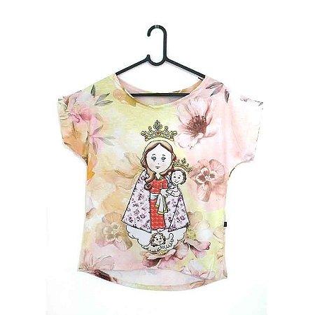 T-Shirt - Regatão - Vestido, Adulto ou Infantil - Tal Mãe Tal Filha Cód.5204