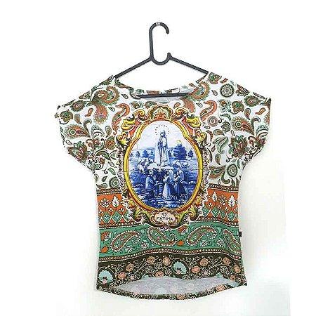 T-Shirt - Regatão - Vestido, Adulto ou Infantil - Tal Mãe Tal Filha Cód.5231