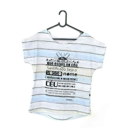 T-Shirt - Regatão - Vestido, Adulto ou Infantil - Tal Mãe Tal Filha Cód.5248