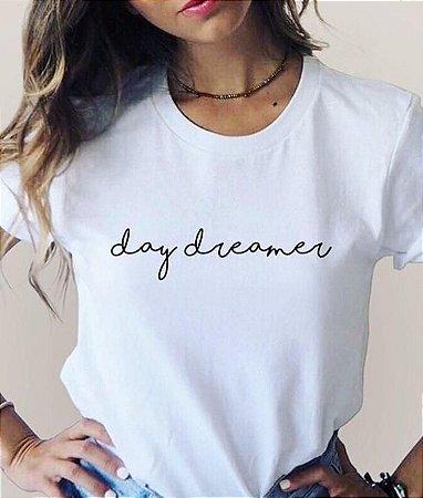 T-Shirt Atacado DAY DREAMER - Adulta - Várias cores de tecido