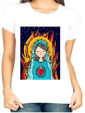 T-Shirt Atacado FOGO SANTO - Adulta - Várias cores de tecido
