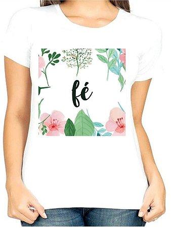 T-Shirt Atacado FÉ AND FLORES - Adulta - Várias cores de tecido