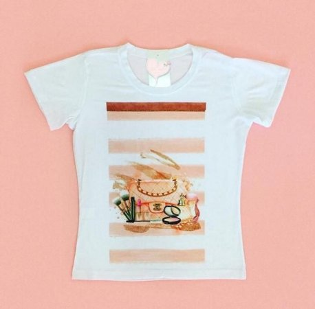T-Shirt Atacado LUXO - Adulto - Várias cores de tecido