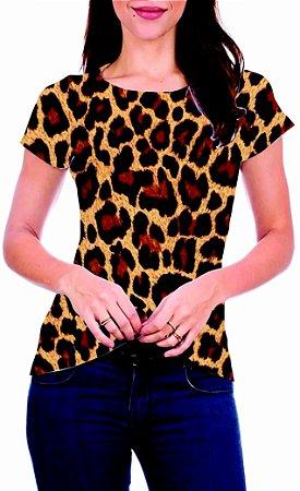 T-Shirt Atacado DONA ONÇA - Adulto - Várias cores de tecido