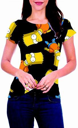T-Shirt Atacado BART - Adulto - Várias cores de tecido