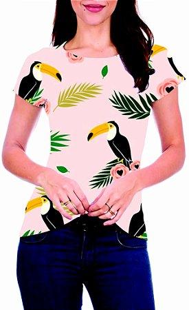 T-Shirt Atacado TUCANOS BRASIL - Adulto - Várias cores de tecido