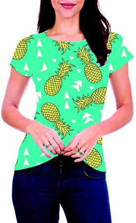 T-Shirt Atacado PINEAPPLES - Adulto - Várias cores de tecido
