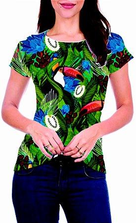 T-Shirt Atacado TUCANOS 3 - Adulto - Várias cores de tecido