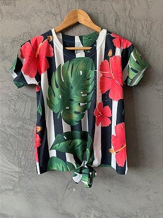 T-shirt Nozinho Palmeira - Tam. Único (M) - Pronta Entrega