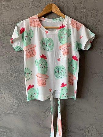 T-shirt Nozinho - Tam. Único (M) - Pronta Entrega