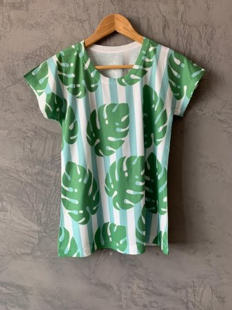 T-shirt Palm - Tam. (M) - Pronta Entrega