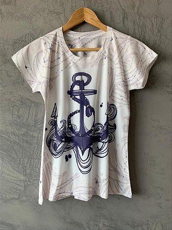 T-shirt Ancora - Tam. (M) - Pronta Entrega
