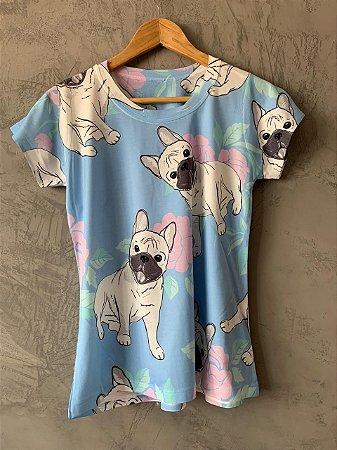 T-shirt Blue Dogs - Tam. (G) - Pronta Entrega