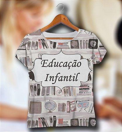 T-SHIRT e VESTIDOS Atacado e Infantil - Masculina e Feminina - Kit Mãe Pai Filha Filho - (P - GG) EDUCACAO INFANTIL