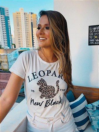 Tshirt Feminina Atacado LEOPARD