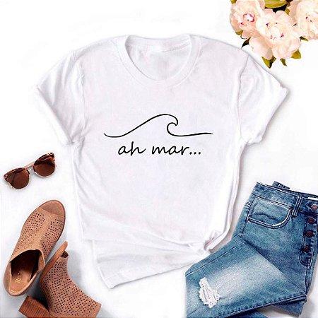 Tshirt Feminina Atacado OH MAR  - TUMBLR