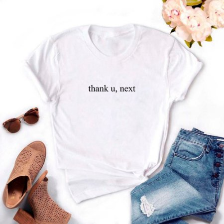 Tshirt Feminina Atacado THANK U, NEXT  - TUMBLR