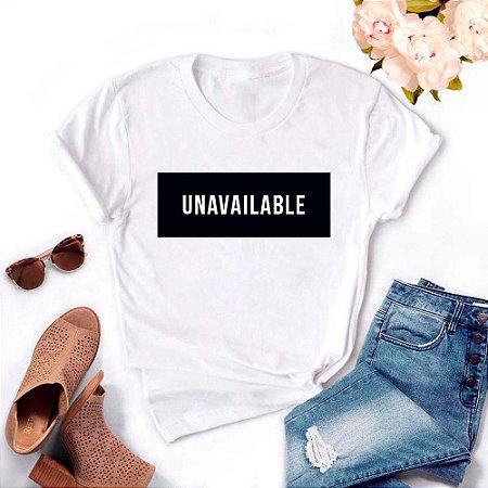 Tshirt Feminina Atacado UNAVAILABLE  - TUMBLR