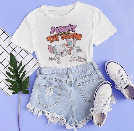 T-shirt PINKY - Tam.Único - Pronta Entrega