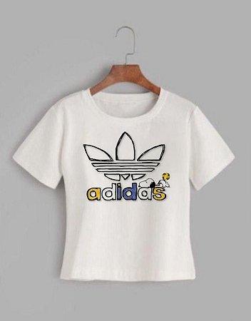 T-shirt ADIDAS COFFEE - Tam.Único - Pronta Entrega