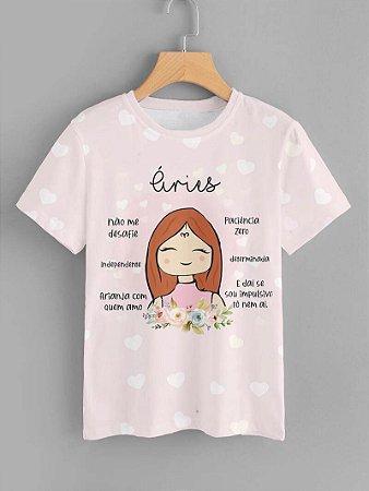 Tshirt Feminina Atacado ÁRIES  - SIGNO