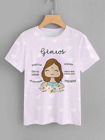 Tshirt Feminina Atacado GEMEOS  - SIGNO