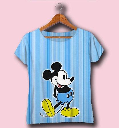 T-SHIRT ATACADO -MICKEY BLUE- CÓD.DISN08122033