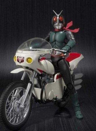 Kamen Rider Old V2 and Cyclone Remodeling