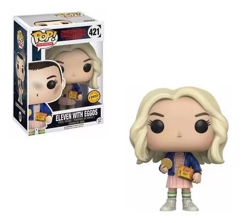 Funko Pop! Tv Stranger Things: Eleven With Eggos (chase)