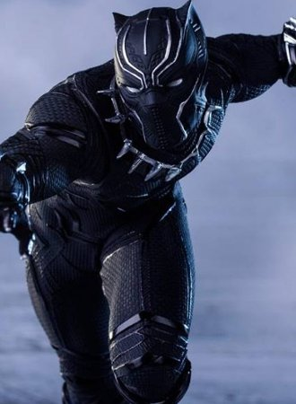 Captain America: Civil War - Black Panther - Art Scale 1/10