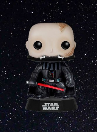 POP! Funko: Star Wars - Unmasked Darth Vader