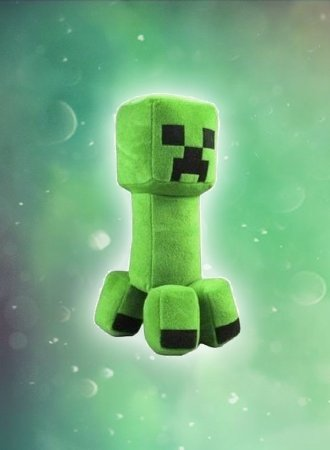 Creeper - Pelúcia Minecraft