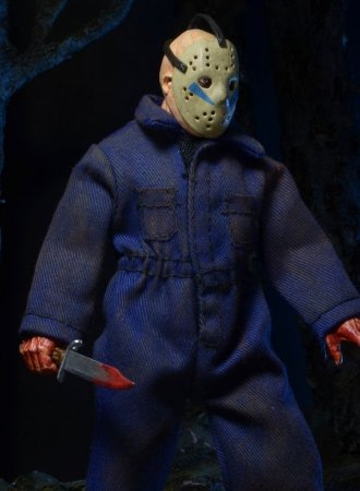 Friday the 13th Part 5 – Retro-Style Clothed Action Figure – Jason/Roy